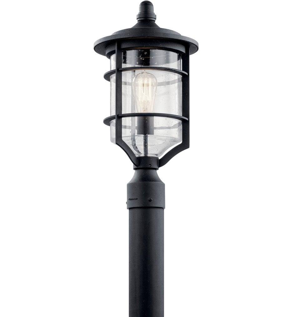 "Royal Marine 19"" Outdoor Post Lantern"