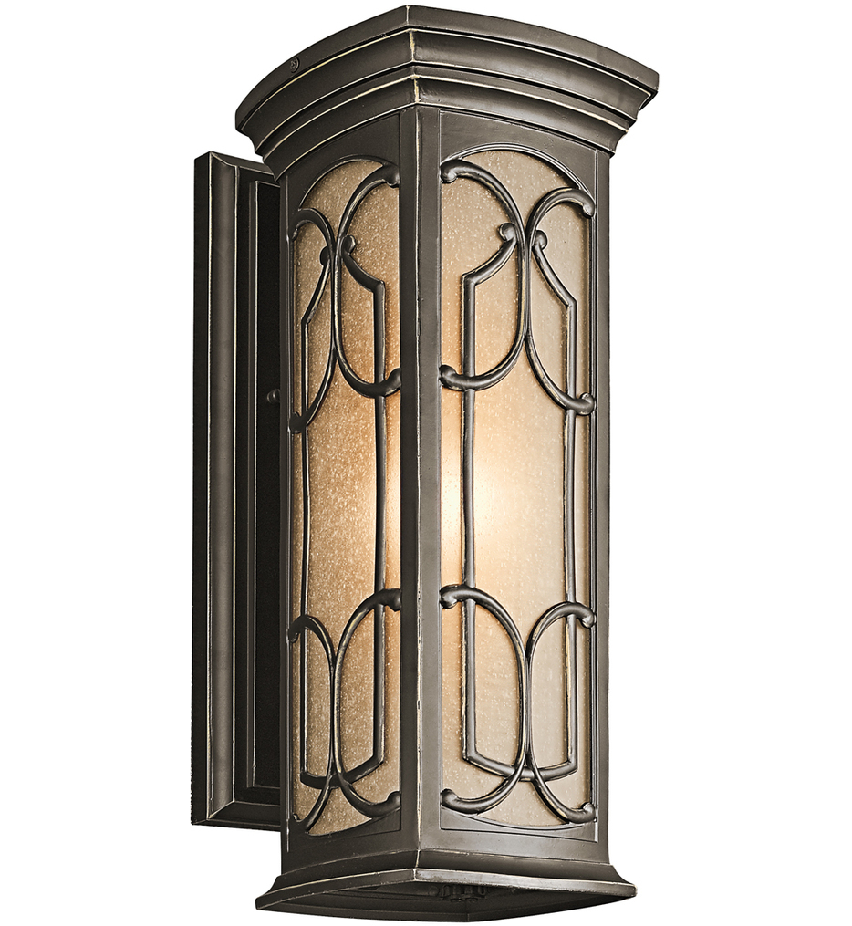 """Franceasi 18"""" Outdoor Wall Sconce"""