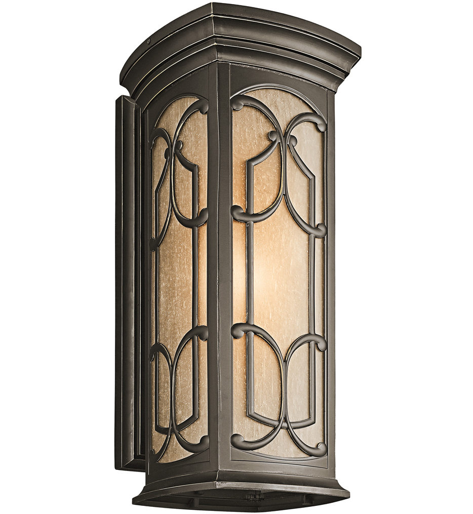 """Franceasi 25"""" Outdoor Wall Sconce"""