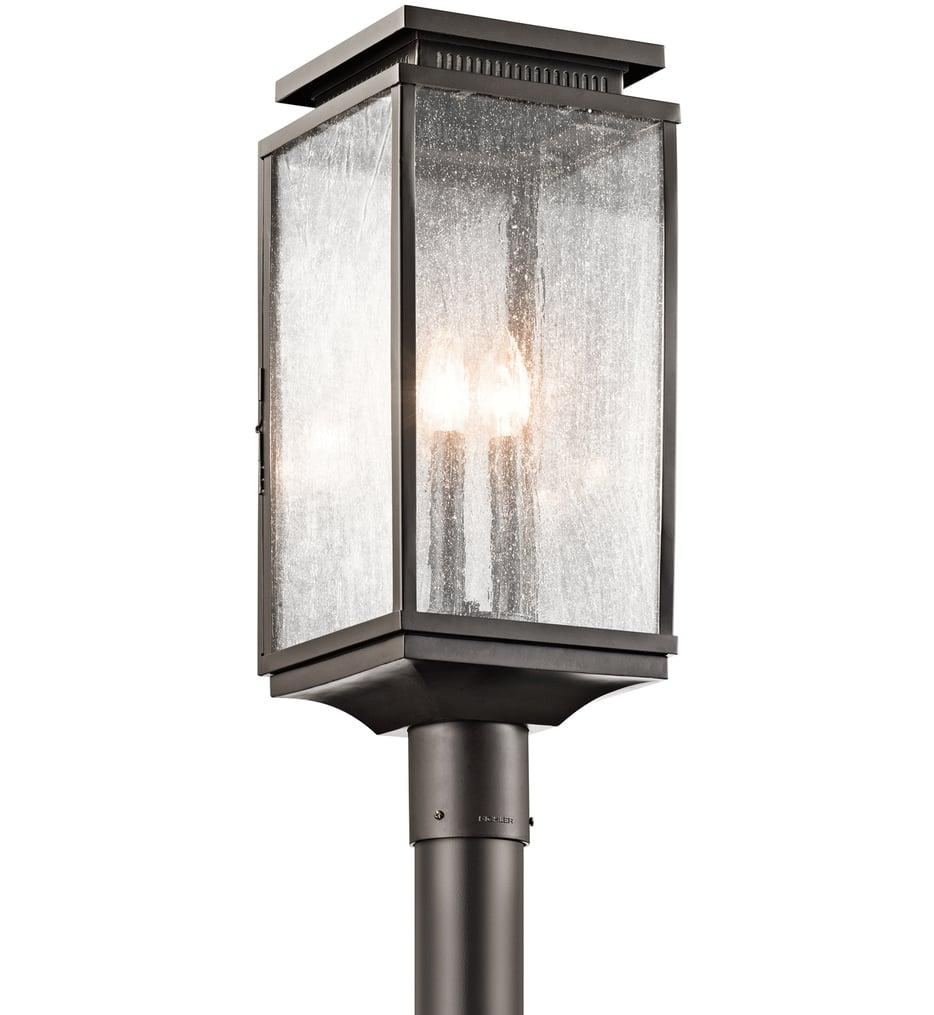 "Manningham 8.5"" 3 Light Outdoor Post Lantern"