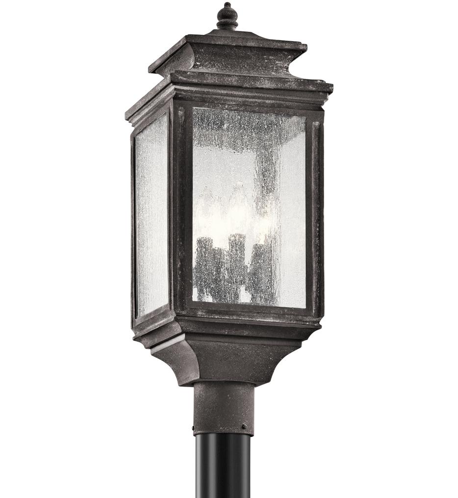 "Wiscombe Park 23.25"" 4 Light Outdoor Post Lantern"