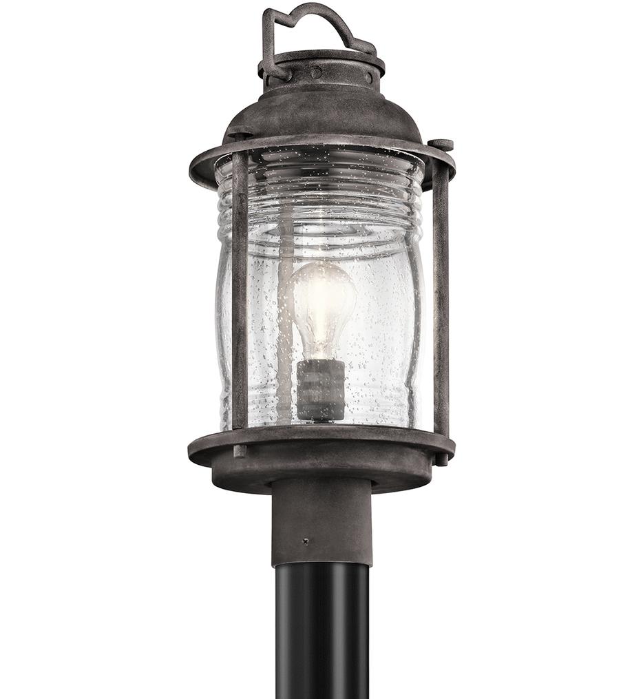 "Ashland Bay 8.75"" 1 Light Outdoor Post Lantern"