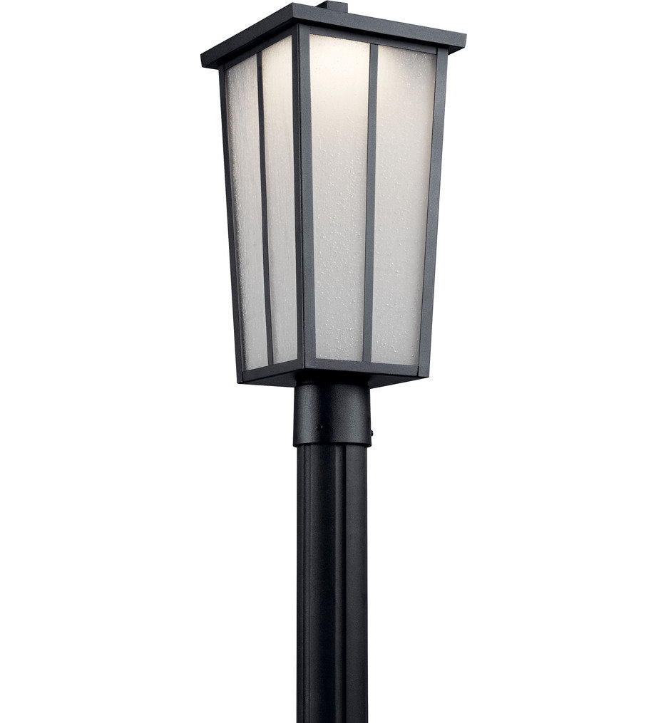 "Amber Valley 19.75"" Outdoor Post Lantern"