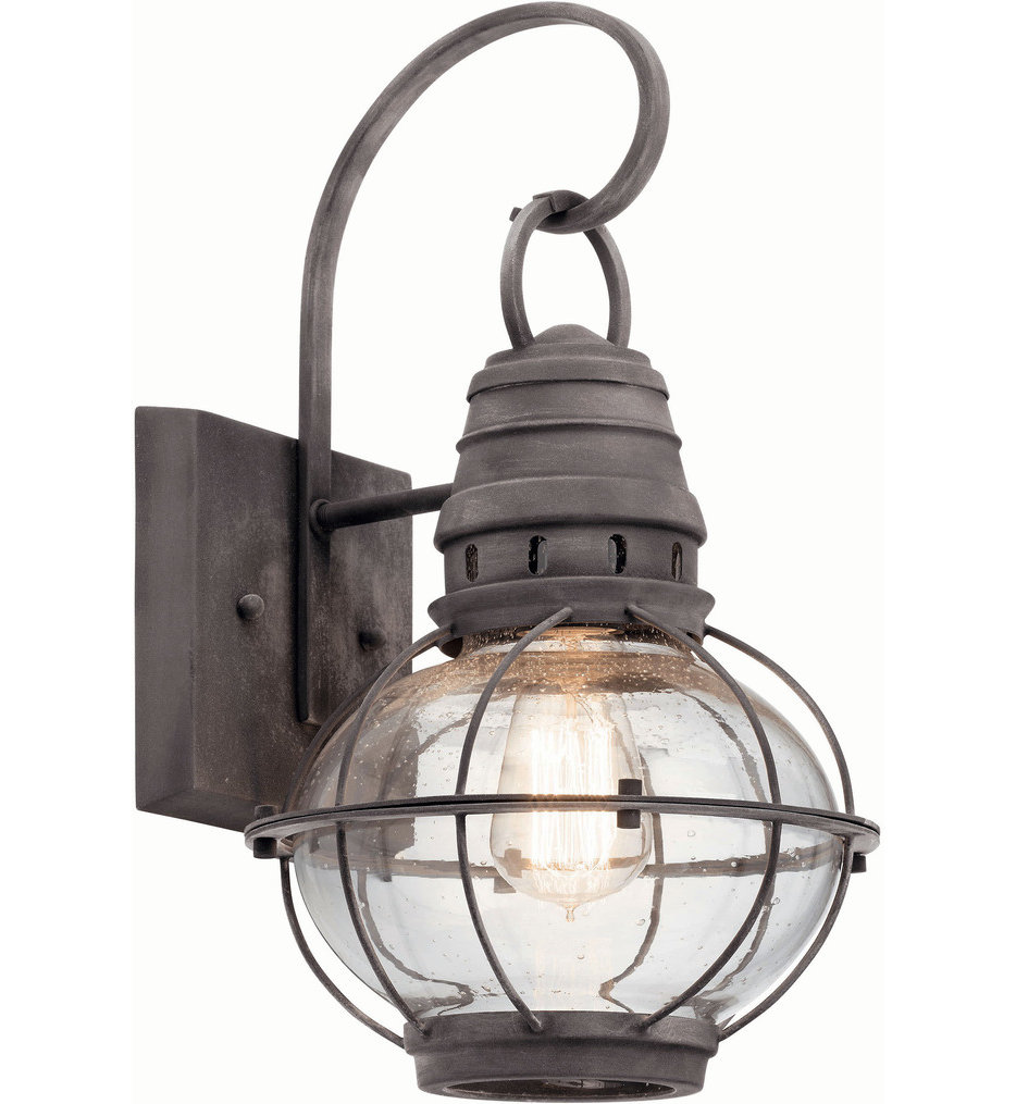 """Bridge Point 16"""" Outdoor Wall Sconce"""