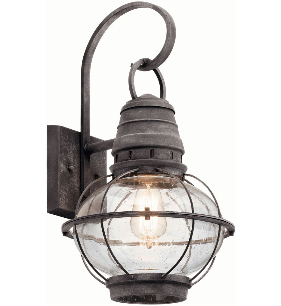 """Bridge Point 20"""" Outdoor Wall Sconce"""