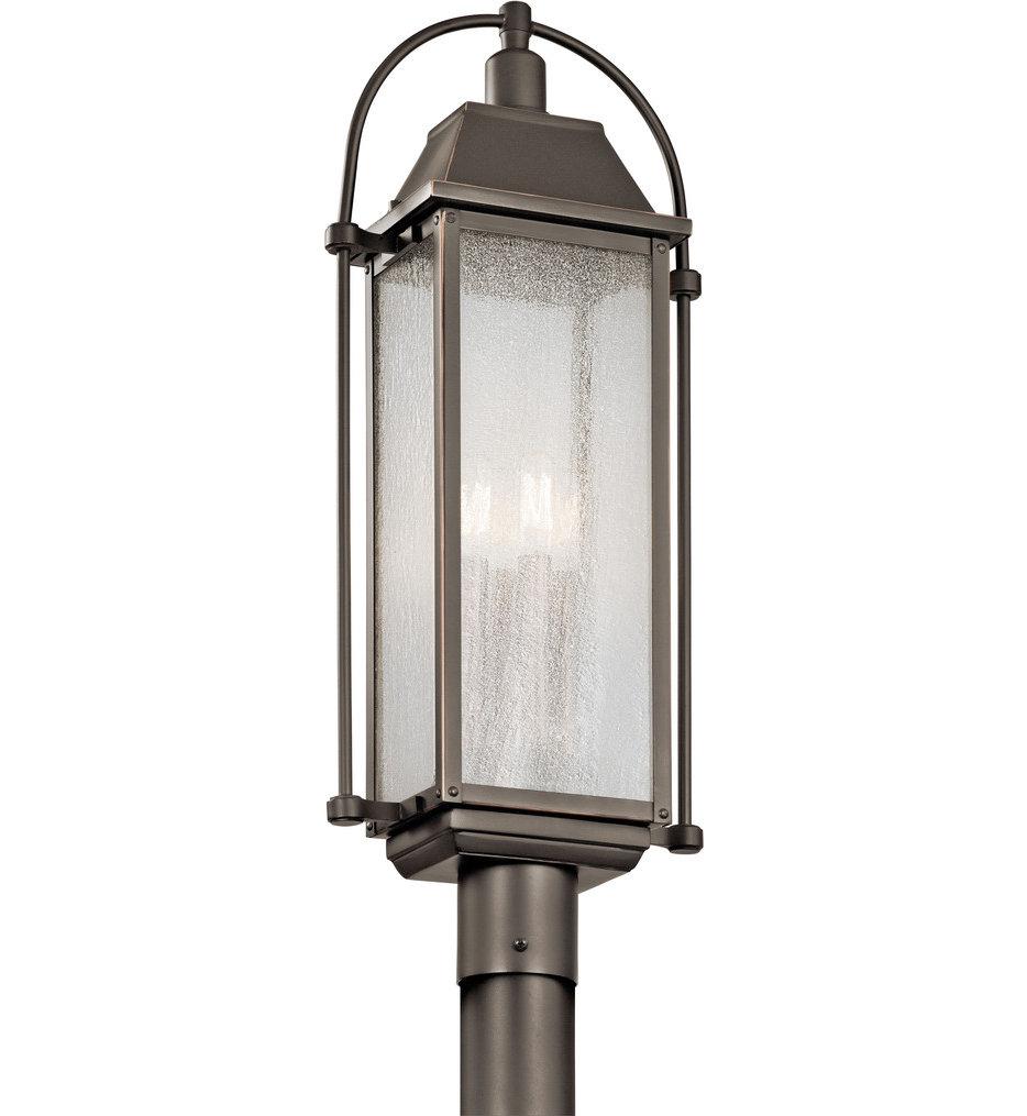 Harbor Row 4 Light Outdoor Post Lantern
