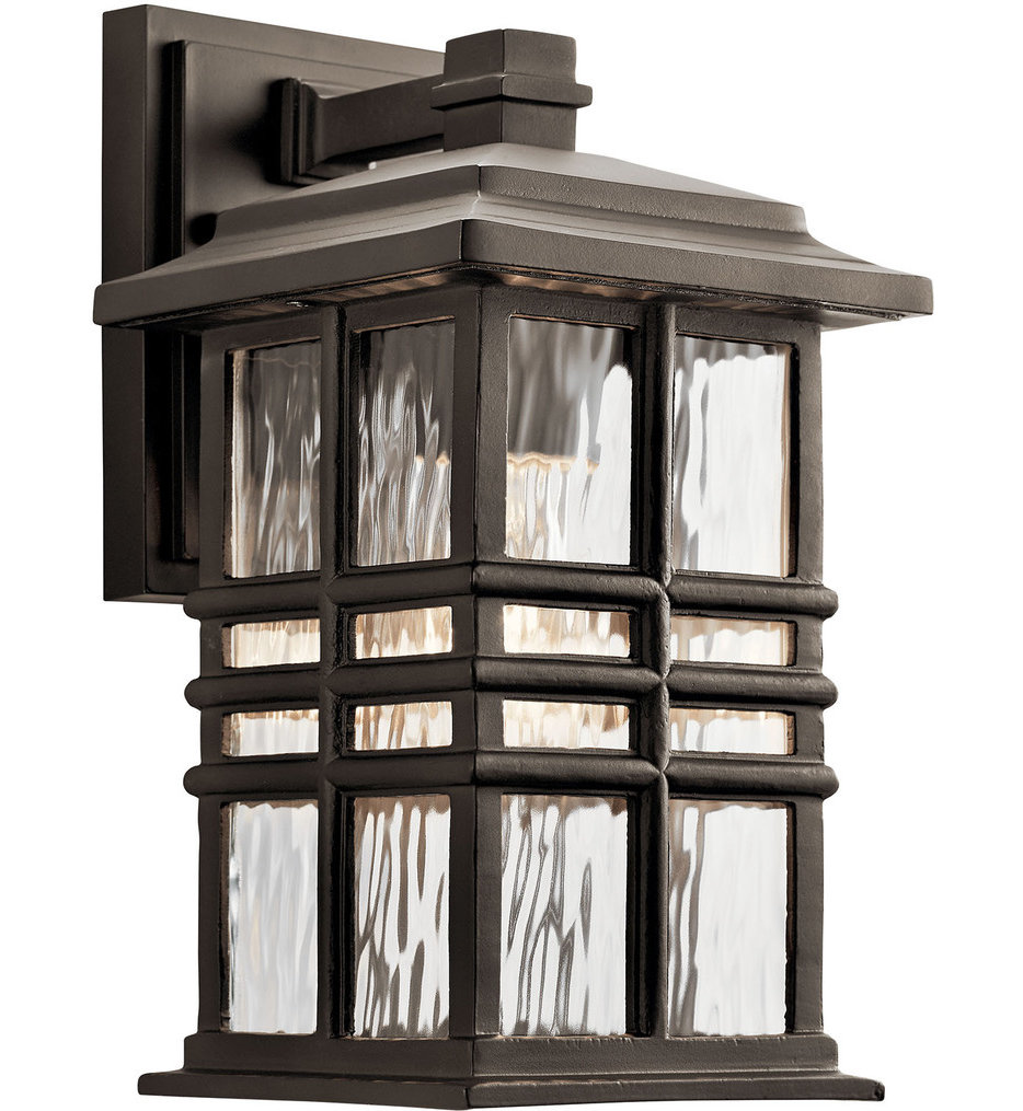 """Beacon Square 12"""" Outdoor Wall Sconce"""