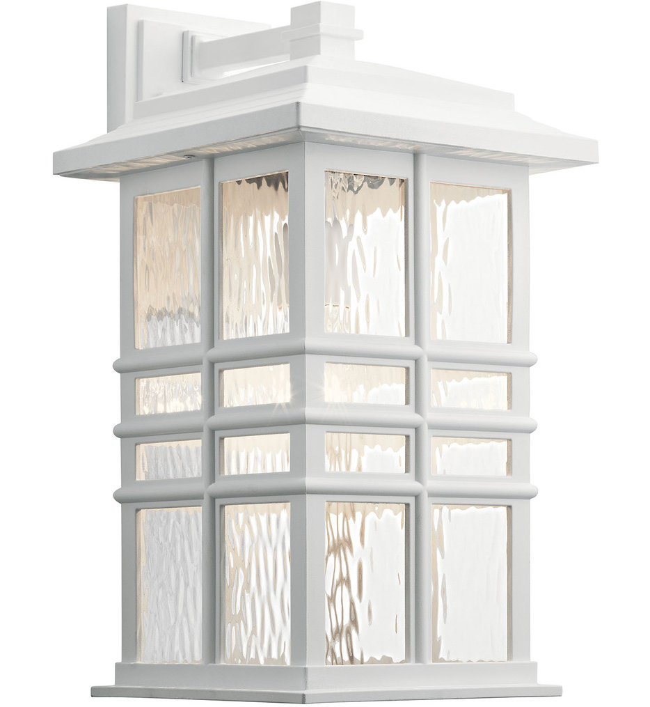 """Beacon Square 17.5"""" Outdoor Wall Sconce"""