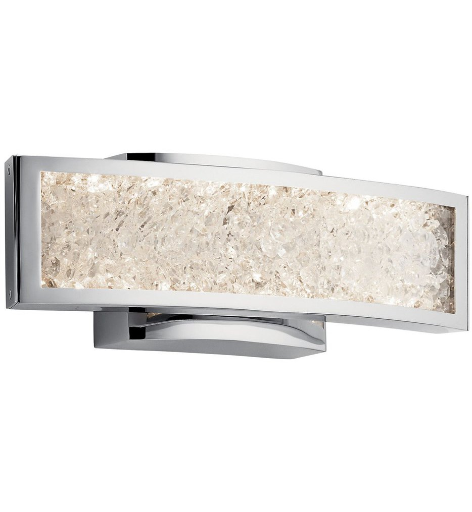 """Crushed Ice 13.5"""" Wall Sconce"""