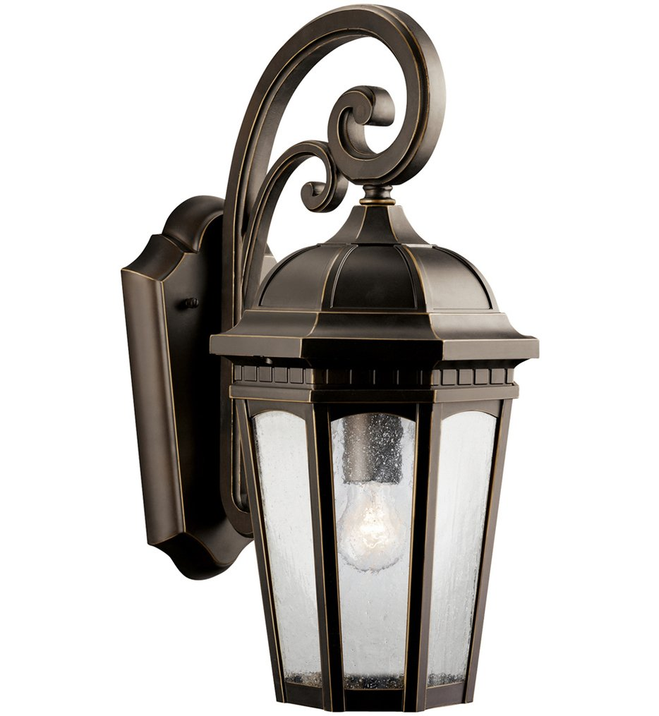 """Courtyard 17.75"""" Outdoor Wall Sconce"""