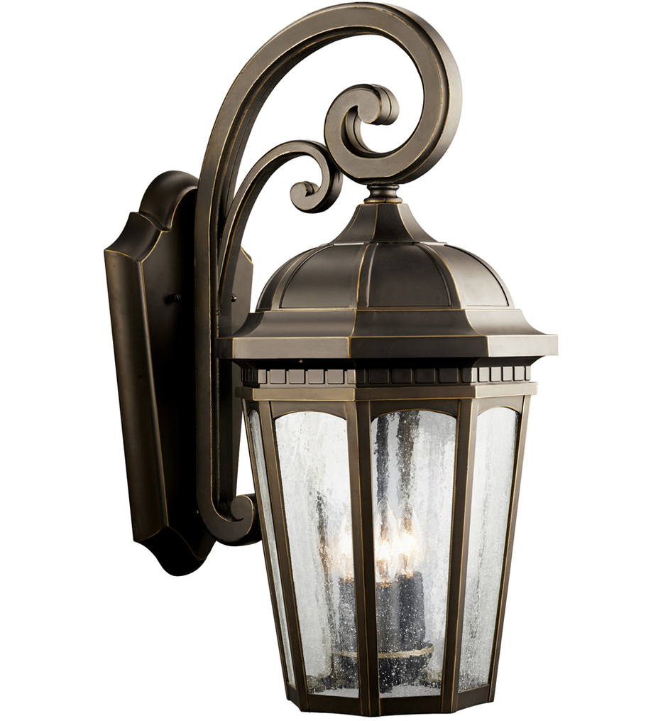 """Courtyard 22.25"""" Outdoor Wall Sconce"""