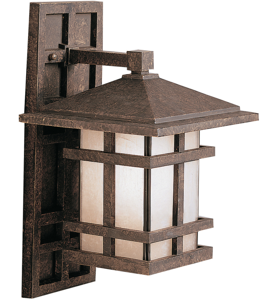 "Cross Creek 15.75"" Outdoor Wall Sconce"