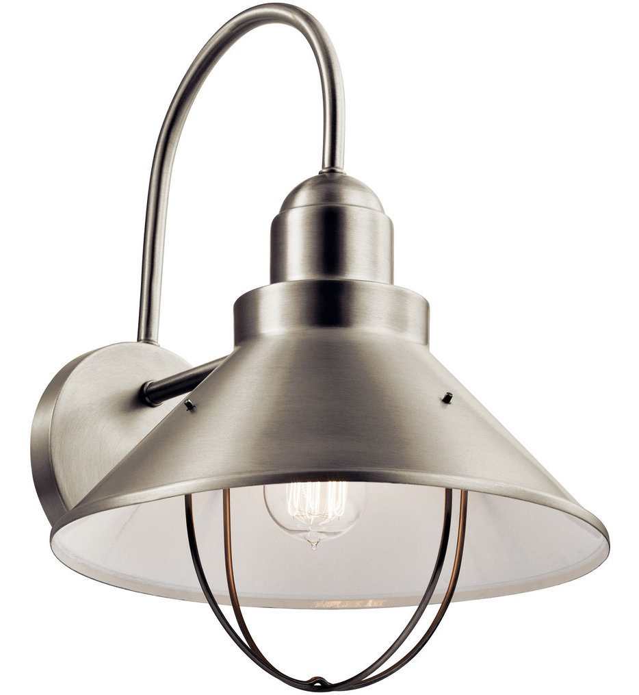 """Seaside 16.5"""" Outdoor Wall Sconce"""