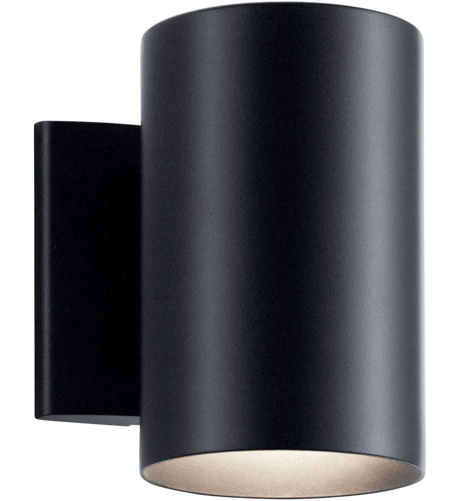 """Cylinder 7"""" Outdoor Wall Sconce"""