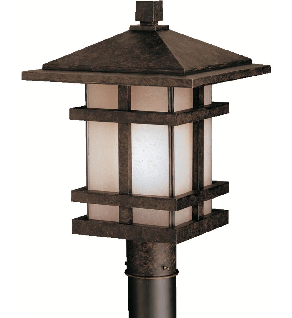 "Cross Creek 11.5"" 1 Light Outdoor Post Lantern"