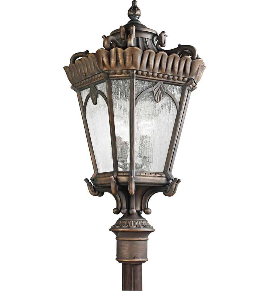 """Tournai 17"""" 4 Light Outdoor Post Lantern"""