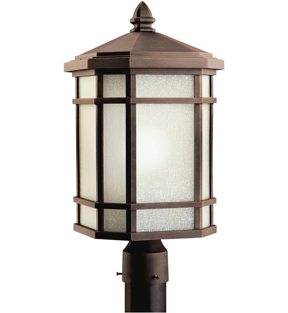 "Cameron 10"" 1 Light Outdoor Post Lantern"