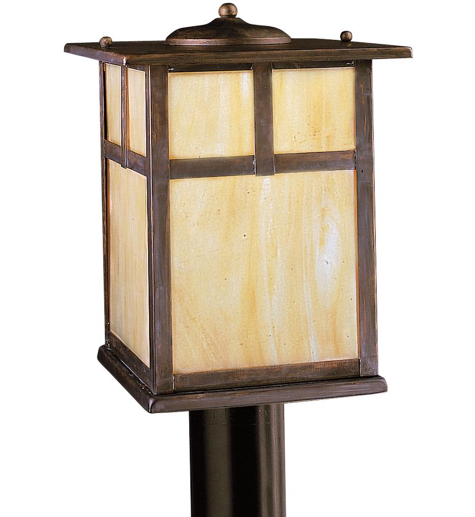"Alameda 9"" 1 Light Outdoor Post Lantern"