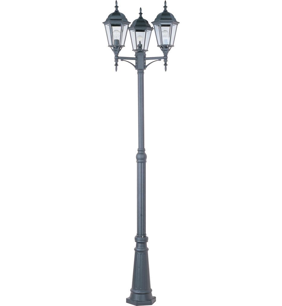 3 Light Outdoor Post Light