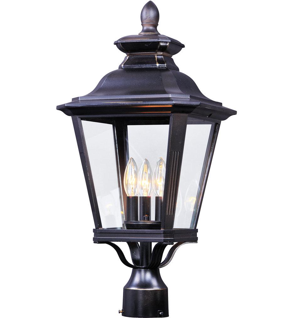 """Knoxville 23.5"""" 3 Light Outdoor Post Lantern"""