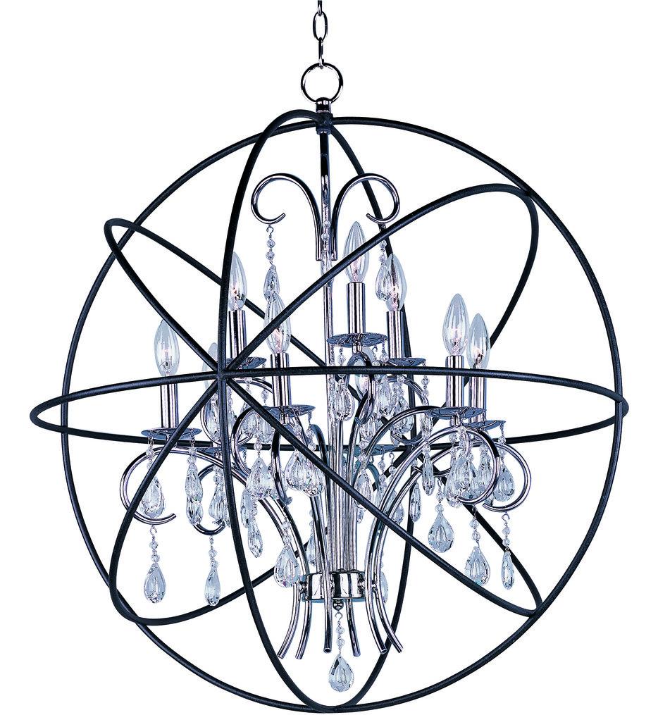 """Orbit 30"""" Chandelier"""