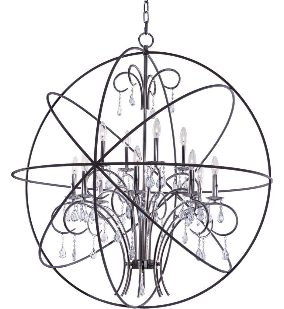 """Orbit 40"""" Chandelier"""