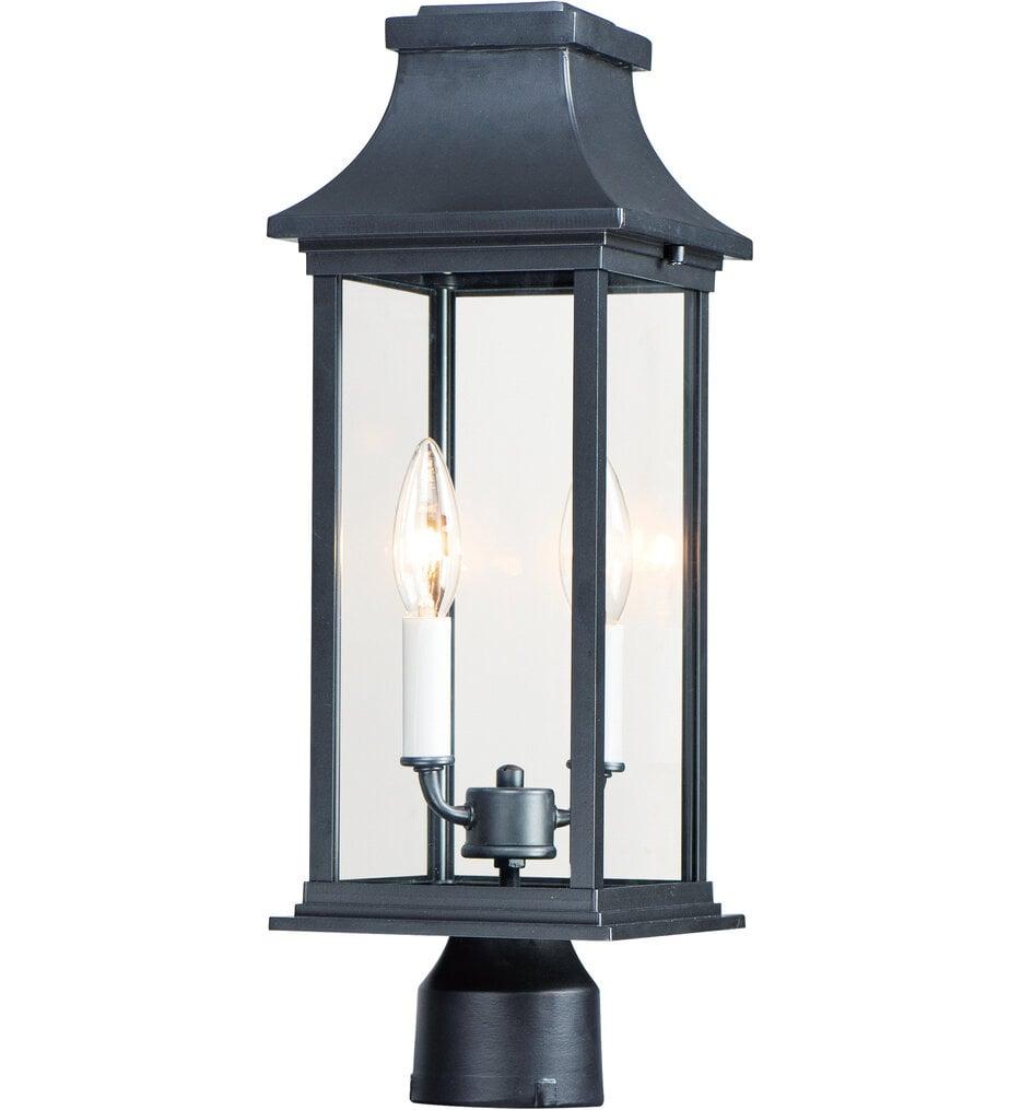 "Vicksburg 6.75"" Outdoor Post Lantern"