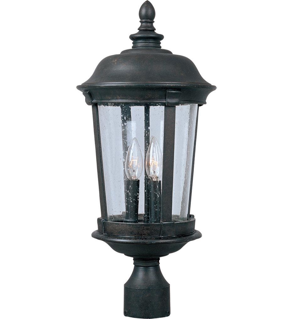 "Dover 25.5"" 3 Light Incandescent Outdoor Post Light"