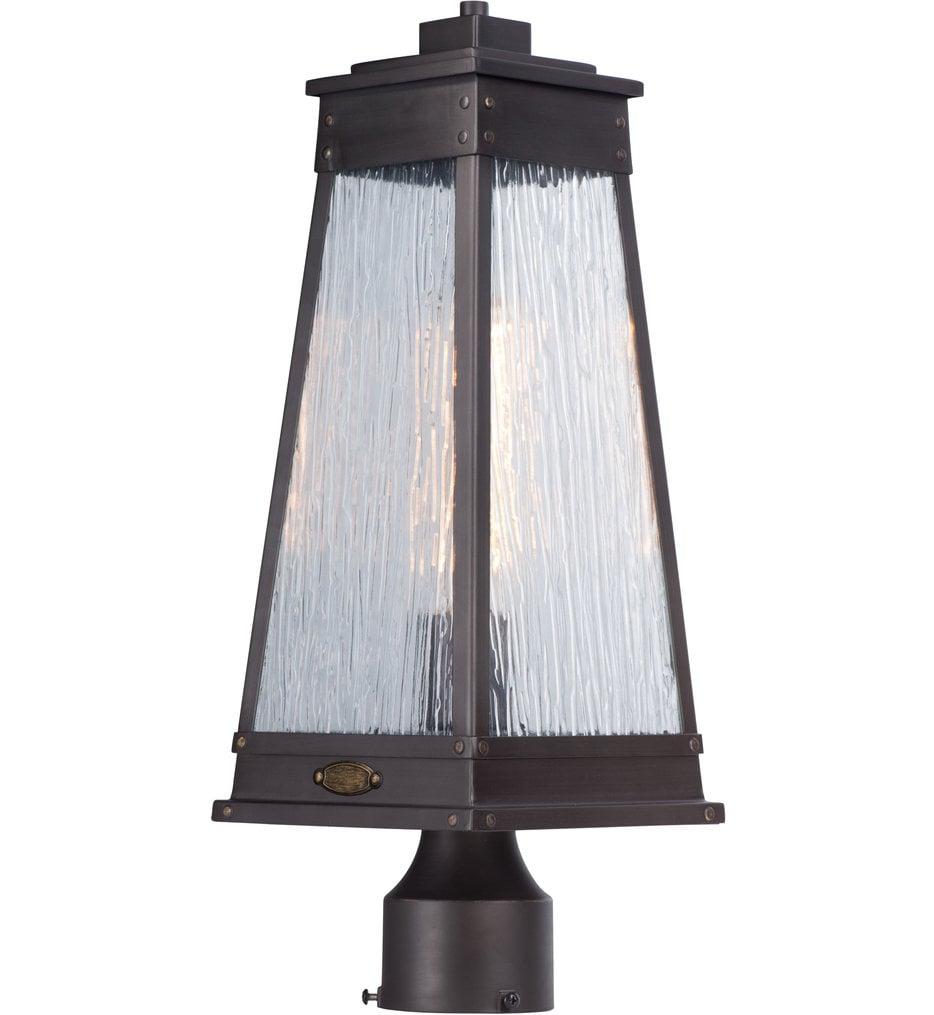 Schooner 1 Light Outdoor Post Lantern