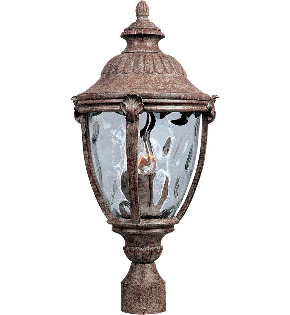 "Morrow Bay 24"" 3 Light Incandescent Outdoor Post Light"