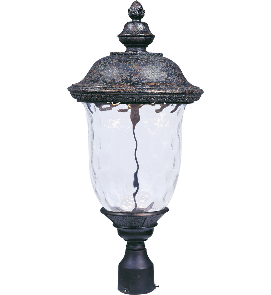 """Carriage House 26.5"""" 1 Light LED Outdoor Post Light"""