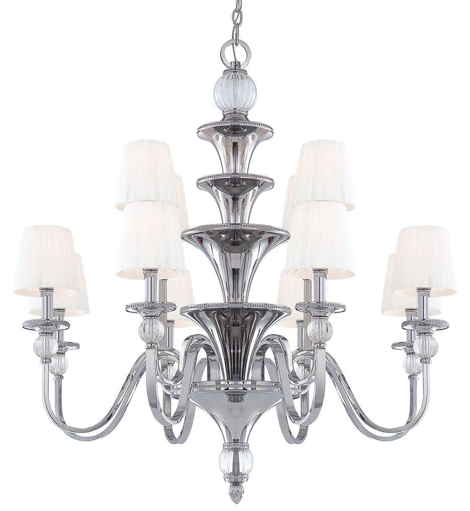 """Aise 39.38"""" Chandelier"""