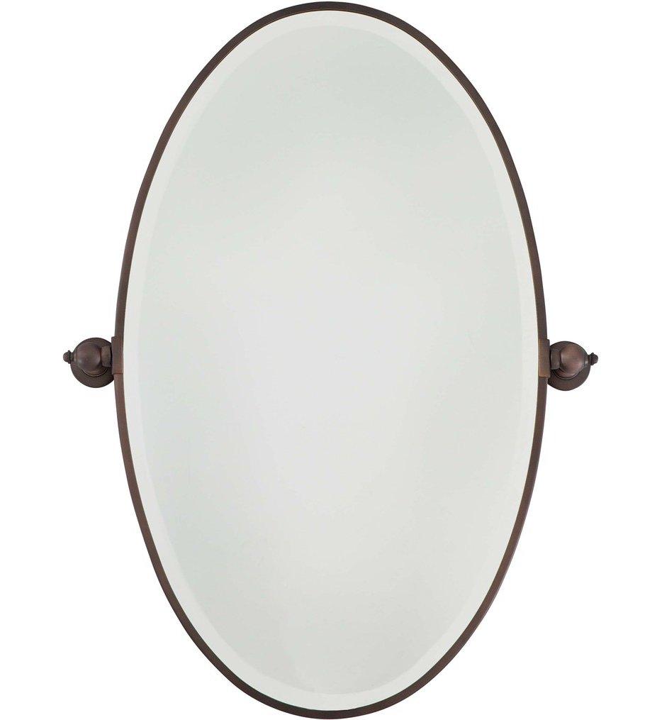 Beveled Xl Oval Mirror