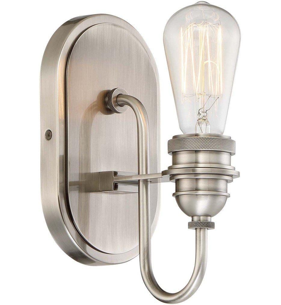 "Uptown Edison 5"" Bath Vanity Light"