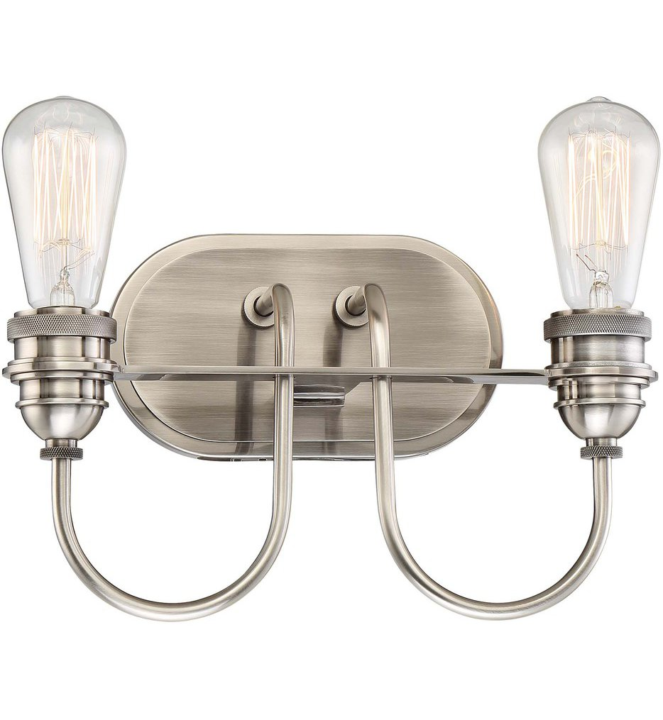 "Uptown Edison 12.5"" Bath Vanity Light"