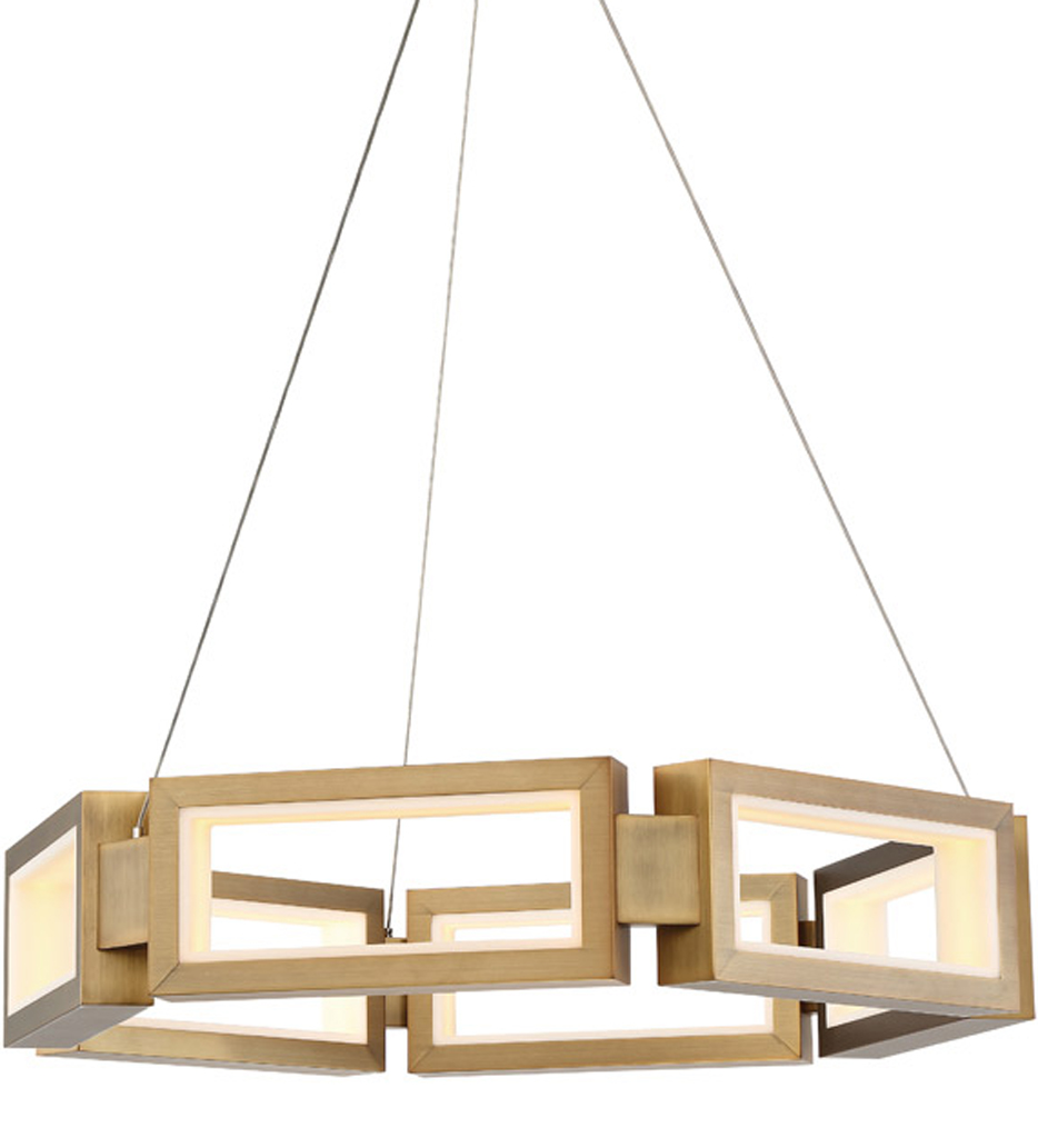 """Mies 26"""" Chandelier"""