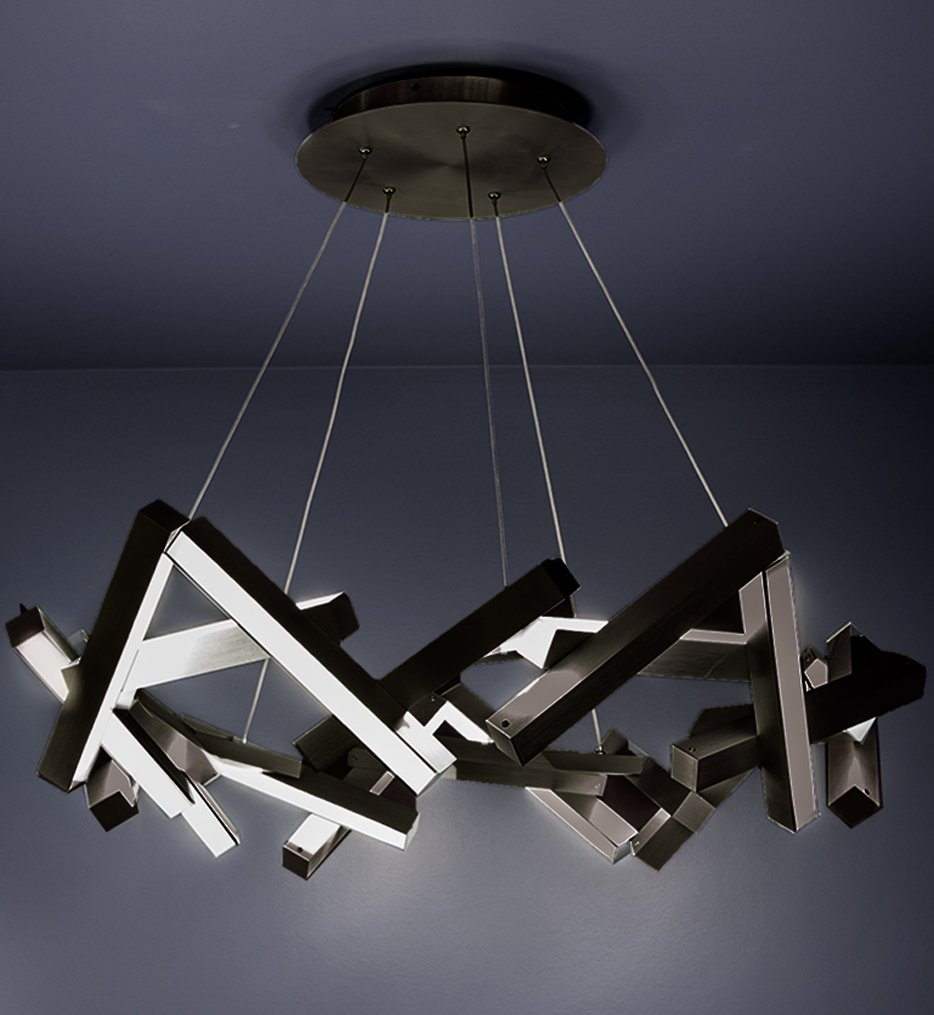 """Chaos 34"""" Chandelier"""