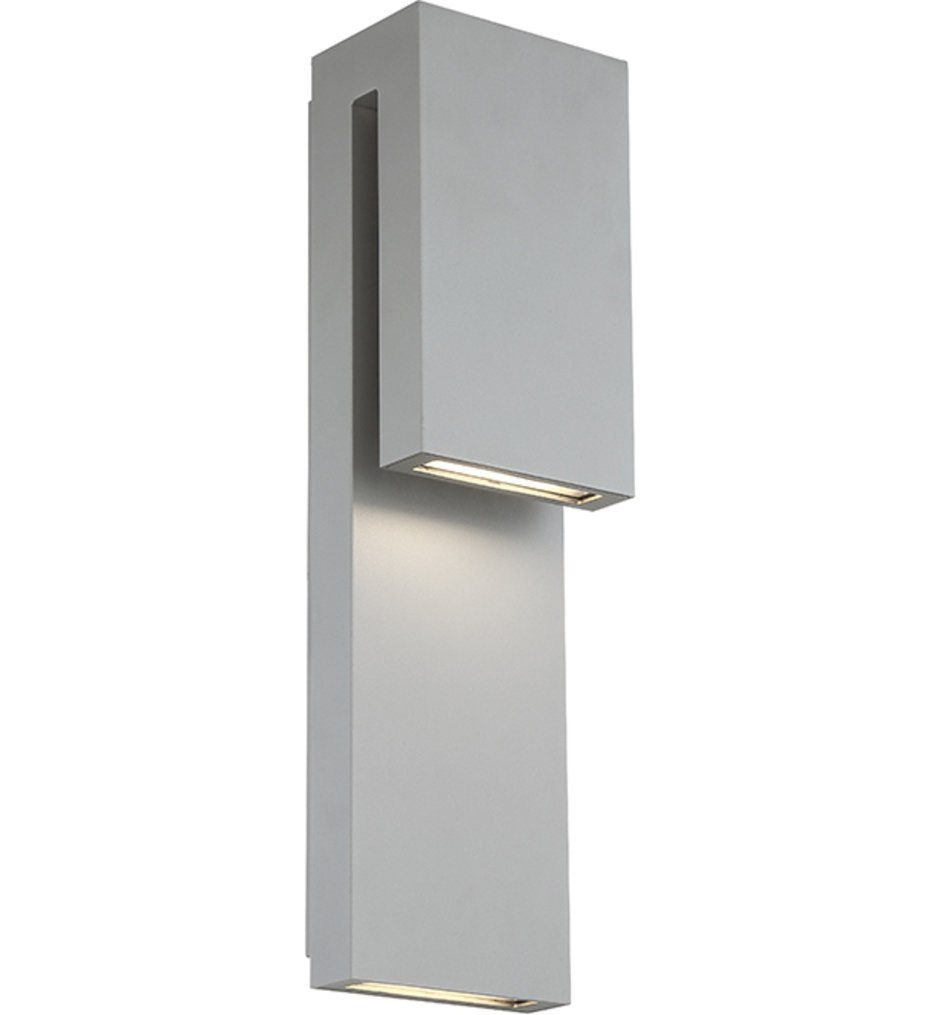 """Double Down 18"""" Outdoor Wall Sconce"""