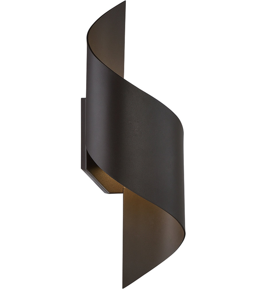 """Helix 17"""" Outdoor Wall Sconce"""