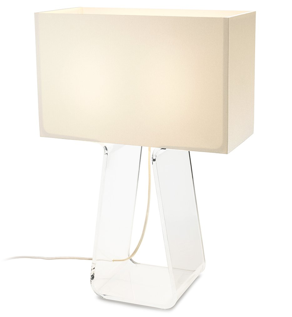 "Tube Top 21"" Table Lamp"