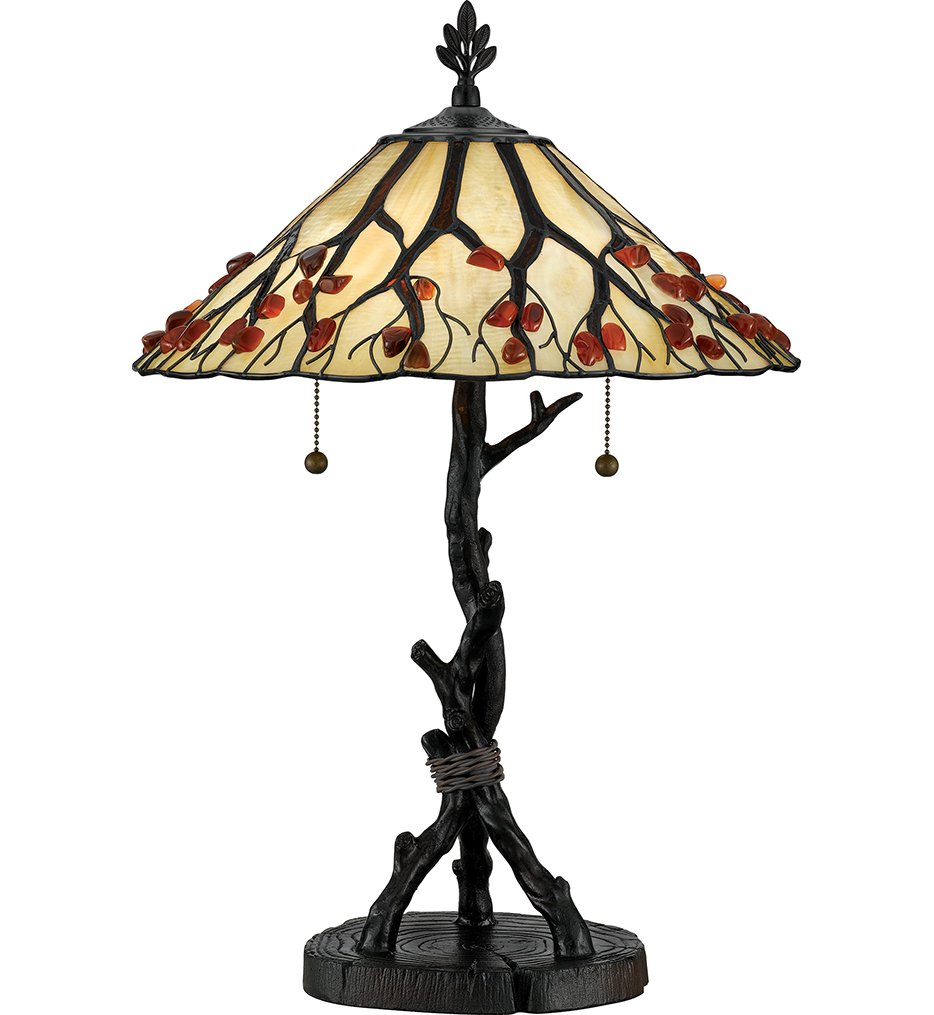 "Agate Portable 25"" Table Lamp"