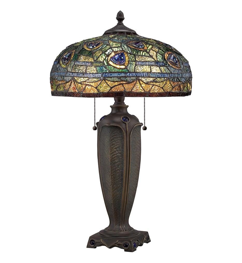 """Tiffany 26"""" Table Lamp"""