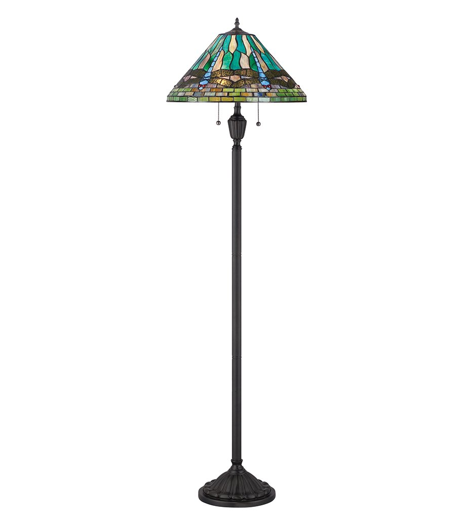 "Tiffany 62"" Floor Lamp"