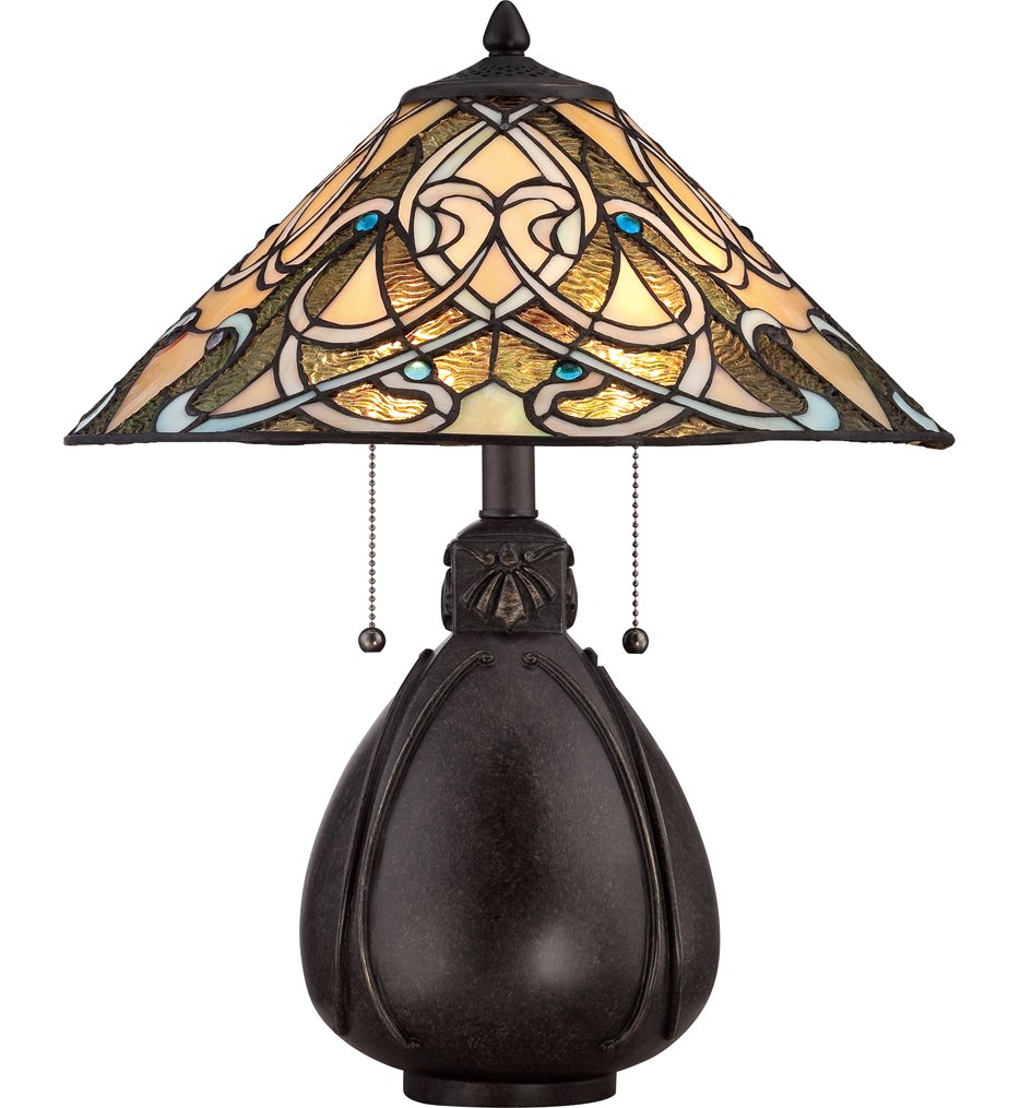 "Tiffany 19.5"" Table Lamp"