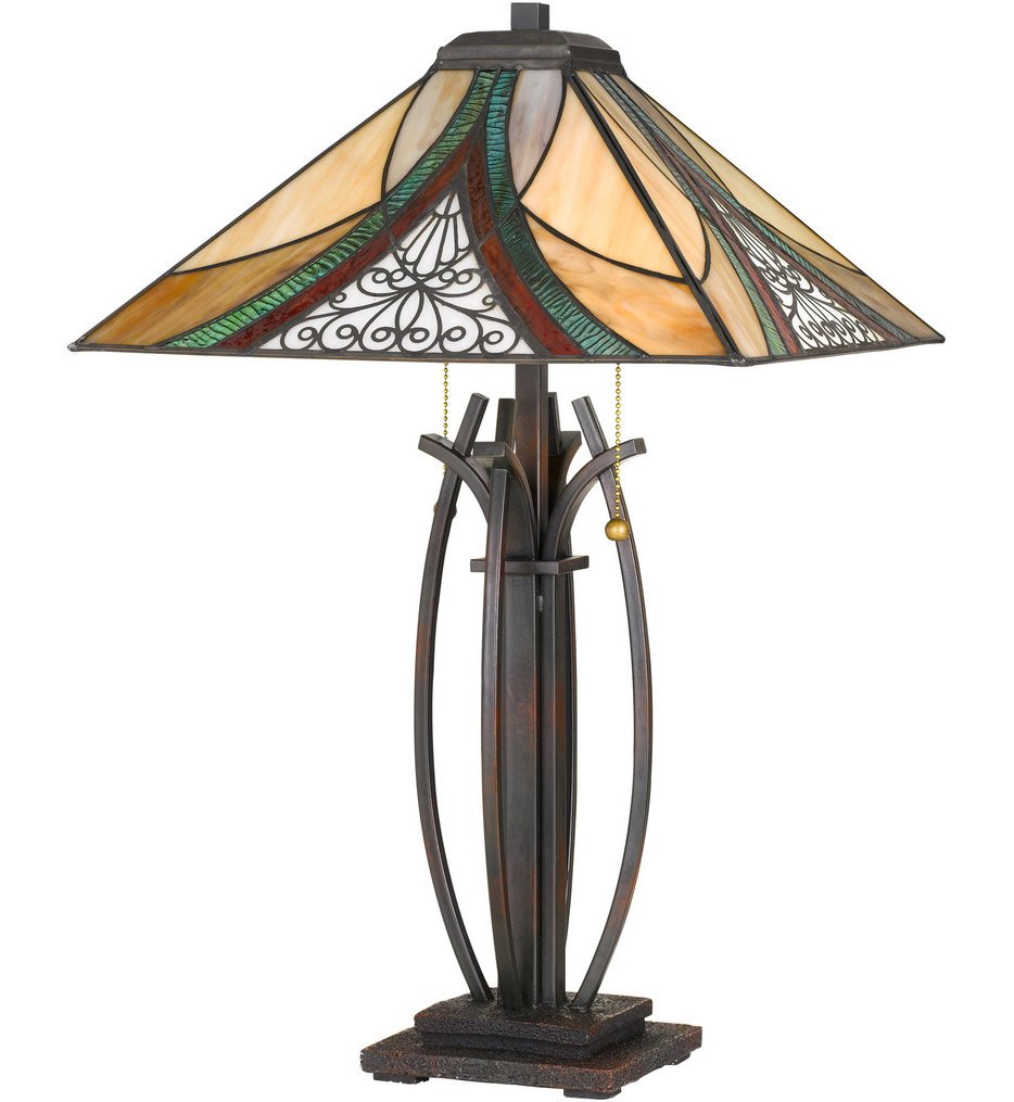 "Tiffany 24.75"" Tiffany Lamp"