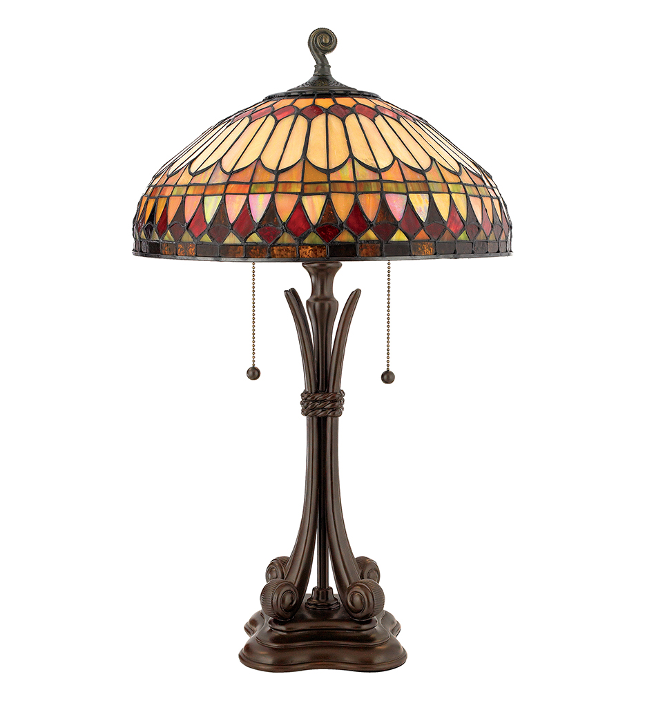 "Tiffany 26.5"" Table Lamp"