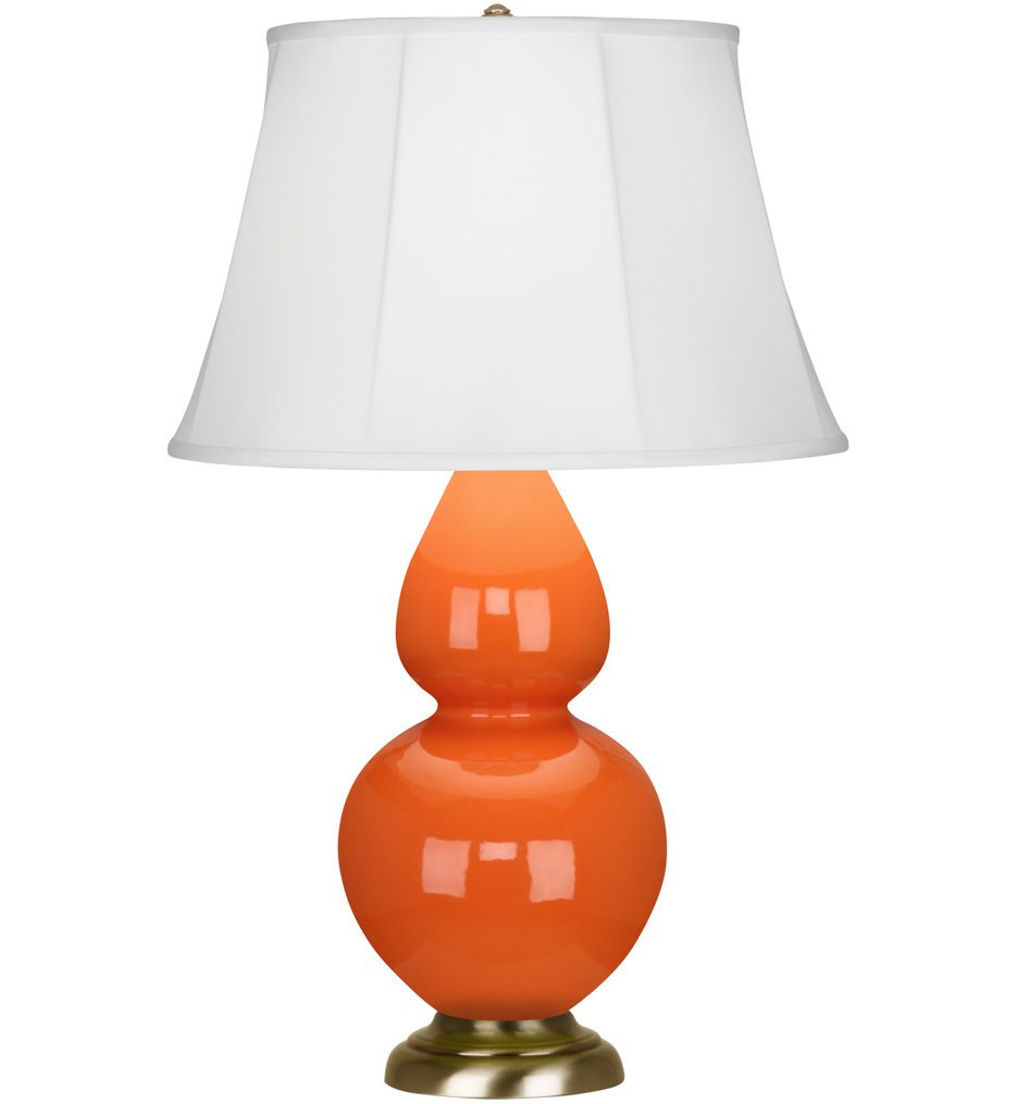 """Double Gourd 31"""" Table Lamp"""