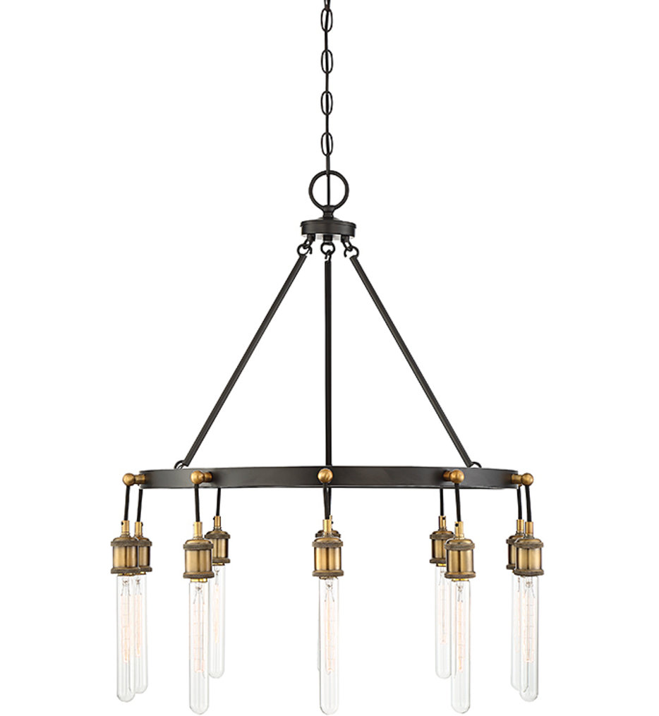 """Campbell 28"""" Chandelier"""