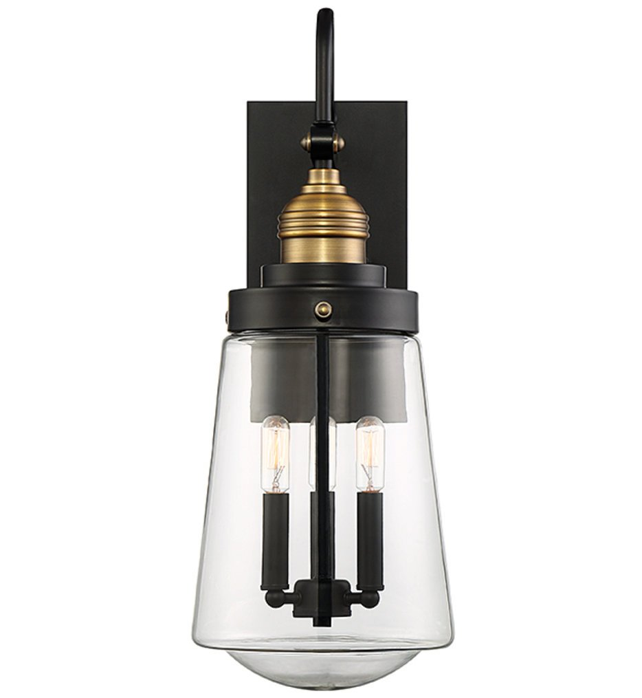 """Macauley 23.5"""" Outdoor Wall Sconce"""