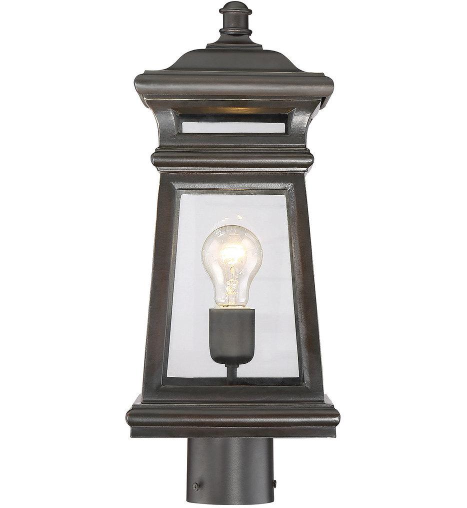 Taylor 1 Light Outdoor Post Lantern